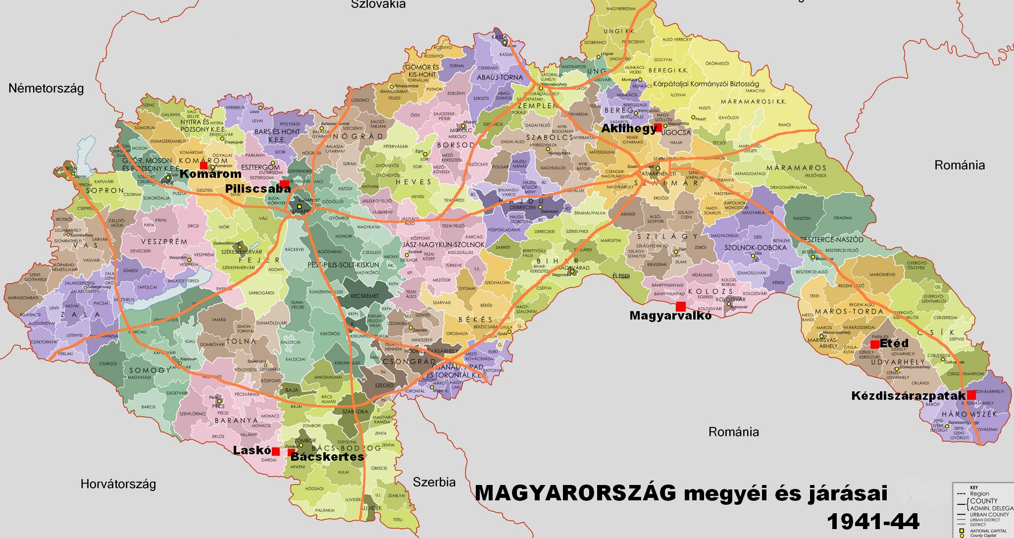 magyarország térkép 1940 Kézdiszárazpatak magyarország térkép 1940
